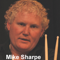 Mike Sharpe Drummer All Natural Ingredients