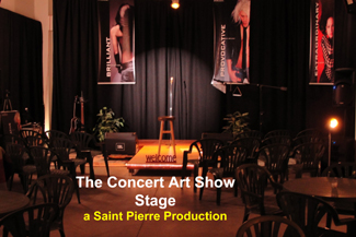 The Concert Art Shows Stage
