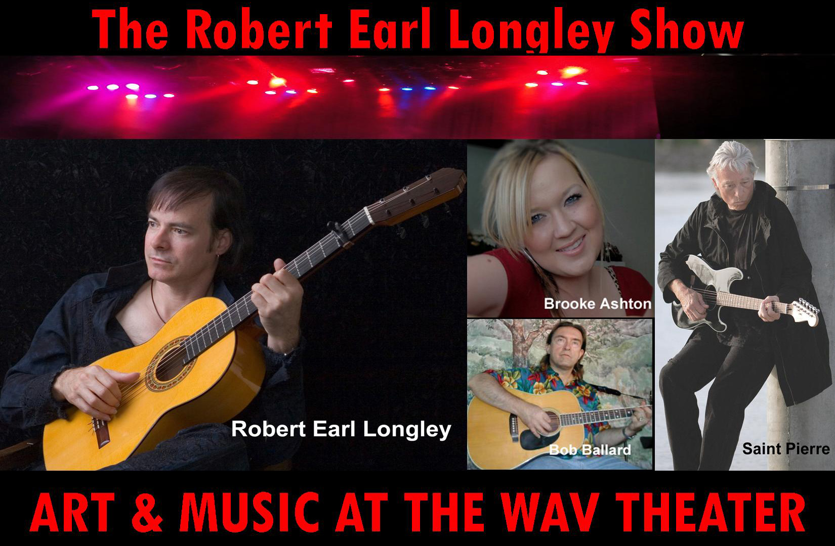 The Classical Masters Show starring Robert Earl Longley, Michael Tine, and The Rockin' Riders