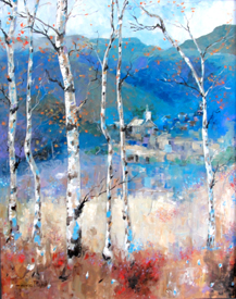 "Fred Trujillo Art Titled: ""The Aspens"""