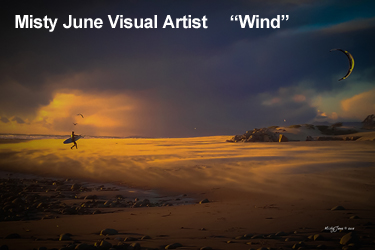 Misty June Art Titled Wind
